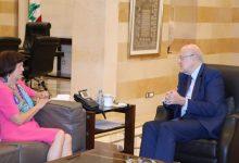 Photo of فرونتسكا اثر لقائها ميقاتي: الامم المتحدة مستمرة بمساعدة لبنان في المجالات كافة خصوصاً الانتخابات