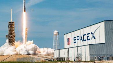 Photo of إقلاع صاروخ «سبايس إكس» إلى الفضاء في رحلة تاريخية وعلى متنه أربعة سياح أميركيين