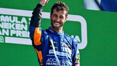Photo of جائزة إيطاليا الكبرى: الأسترالي ريكياردو يفوز بسباقه الأول مع ماكلارين