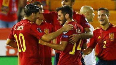 Photo of تصفيات مونديال 2022: إسبانيا تستعيد الزخم وتسقط جورجيا