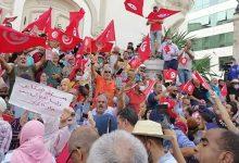 Photo of تظاهرة في تونس ضد قرارات سعيّد: «نخشى العودة الى ديكتاتورية بن علي»