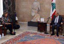 Photo of عون استقبل نائبة وزير الخارجية الأميركية للشؤون السياسية