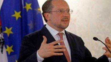 Photo of وزير خارجية النمسا يتولى المستشارية خلفاً لكورتس
