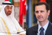 Photo of ولي عهد أبوظبي يناقش مع الأسد الوضع في سوريا