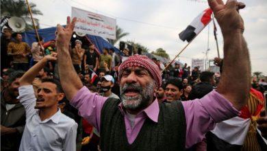 Photo of الحشد الشعبي الموالي لايران في العراق يعتصم لاطاحة الانتخابات