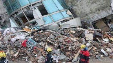Photo of زلزال بقوة 6،5 درجات يضرب شمال شرق تايوان